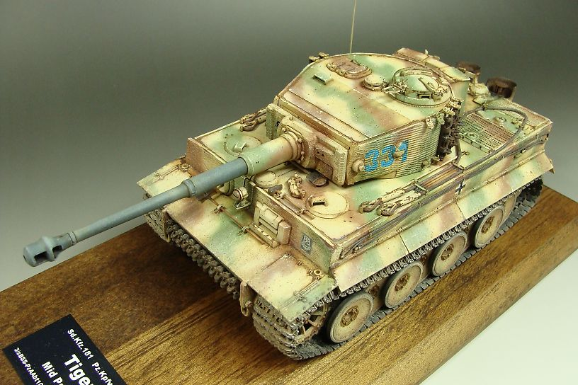 SS第101重戦車大隊タイガーⅠ中期...